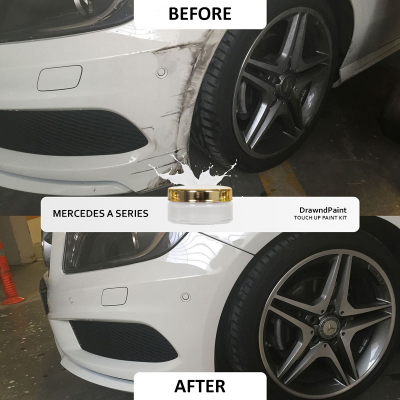 Before After Photo For Mercedes A Series