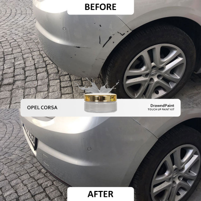Before After Photo For Opel Corsa