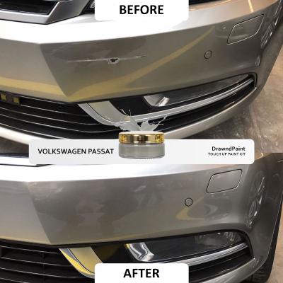 Before After Photo For Volkswagen Passat