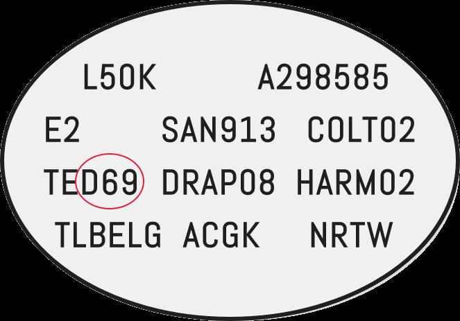 Color Code Example For Dacia